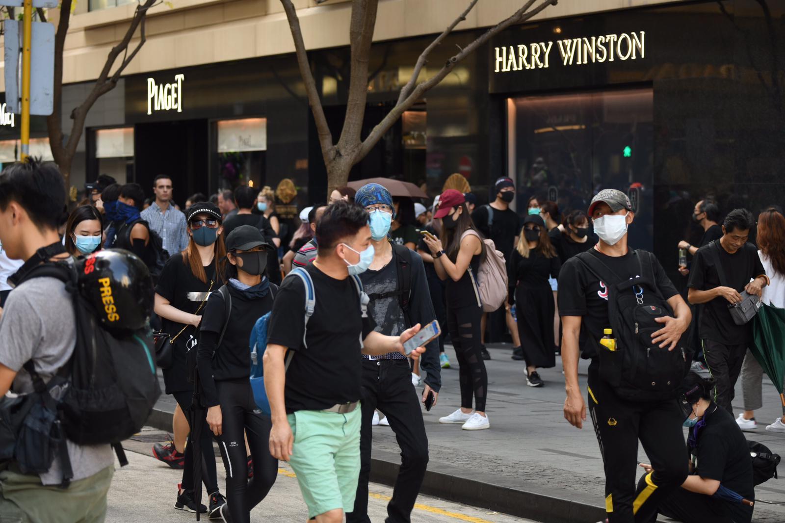 今日多區再有示威行動。