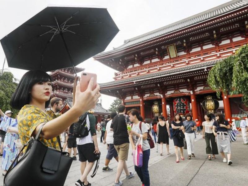 日本成中國黃金周外遊熱點,香港首跌出頭10位。網圖
