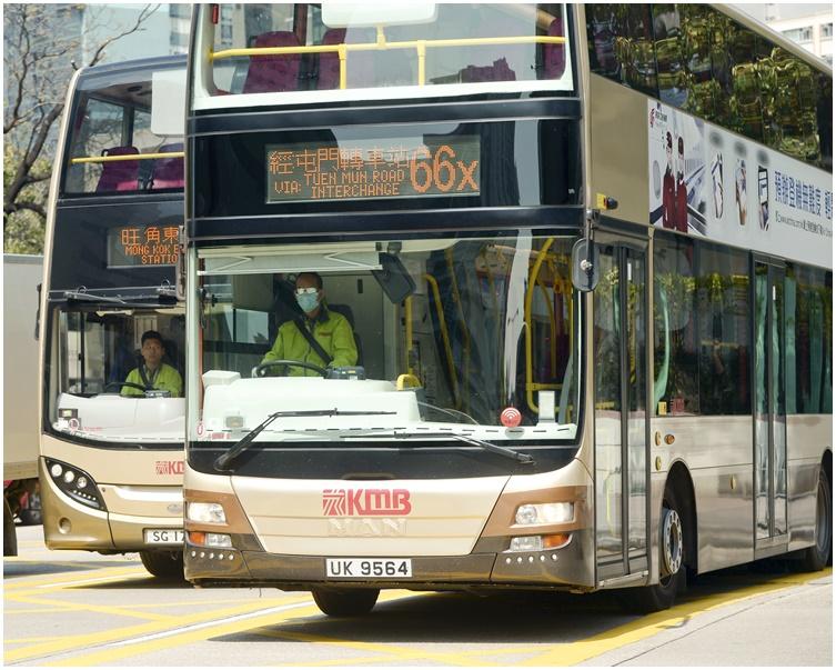 巴士服務維持正常。資料圖片