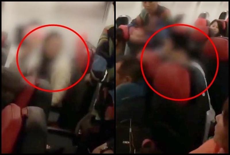 乘客因孩子哭鬧聲,隔空喊話「管好」,沒想到竟遭到對方回嗆。(網圖)
