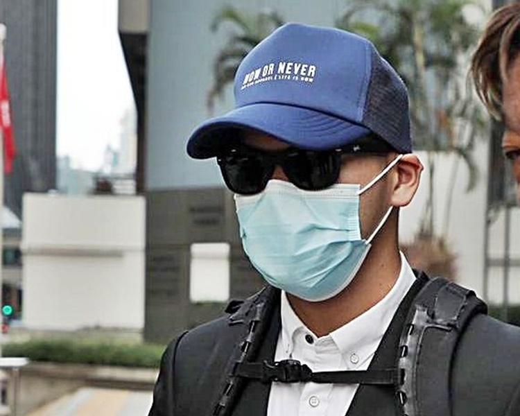 周合駿被裁定一項盗竊罪罪成。