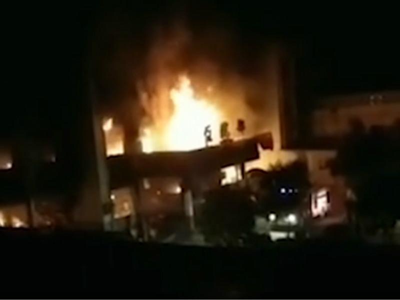 安徽省亳州市渦陽縣一鎮醫院發生火災,事故現場發現5具遺體。網圖