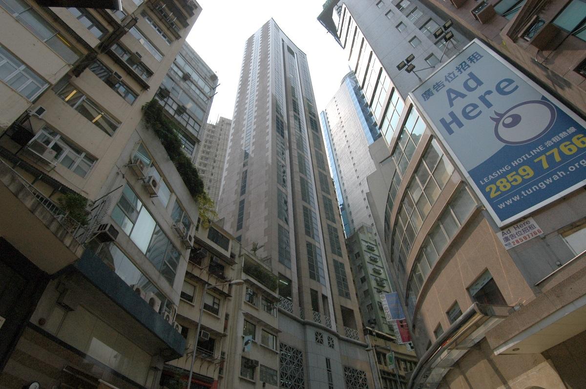 雲咸商業中心中層全層以月租近14萬租出。