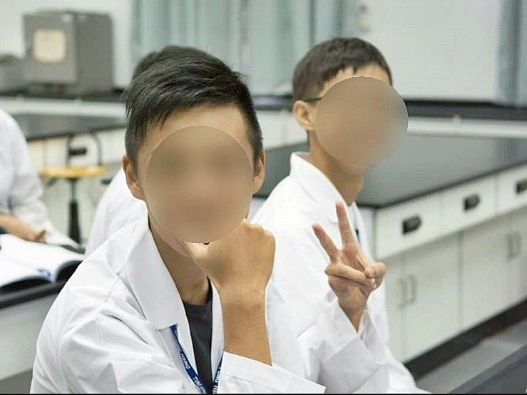 涉案男子是台灣高雄醫學大學一名大學生。 網圖