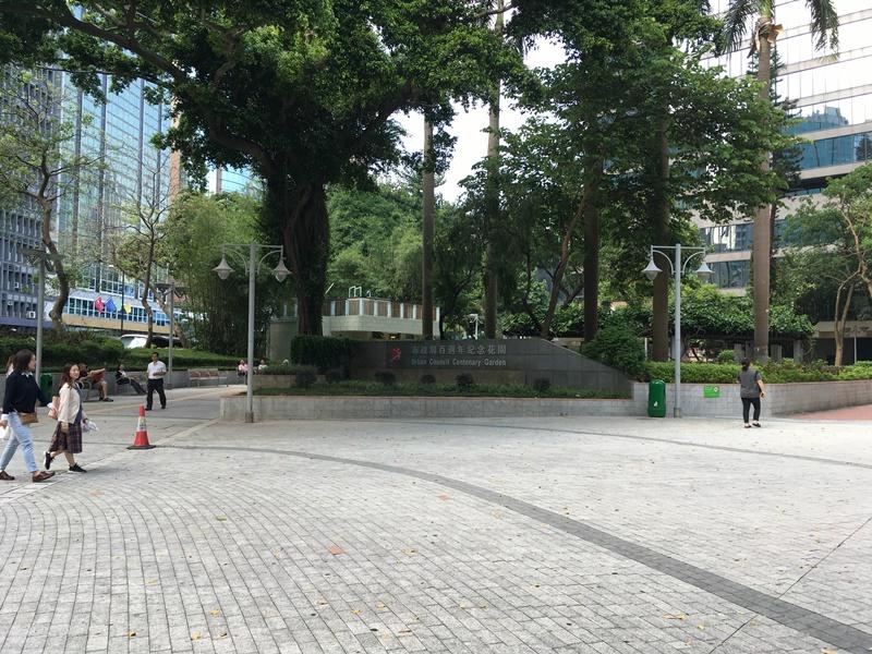 婦人在市政局百週年紀念公園被偷手機。資料圖片