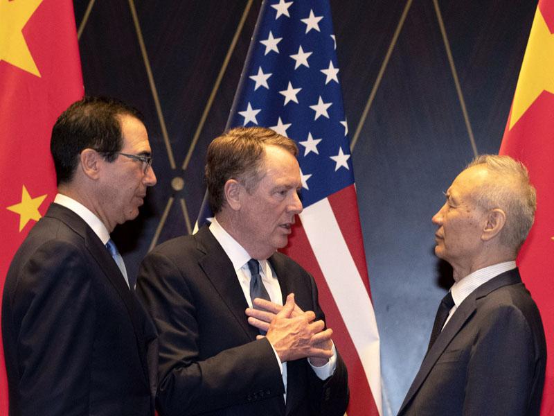 中美新一輪高級別經貿磋商今日展開。AP
