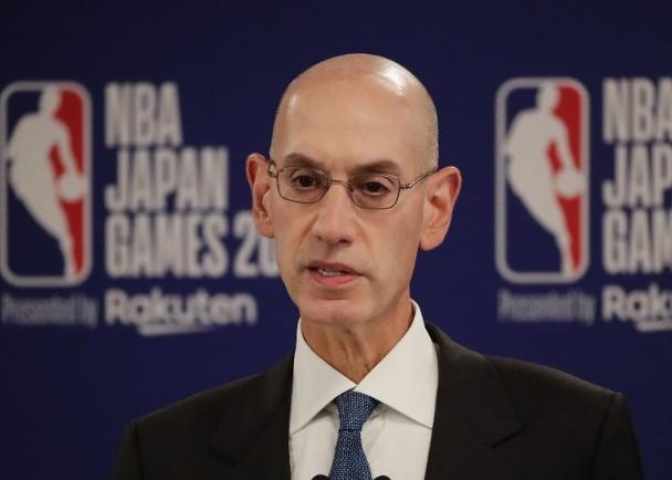 阿當施華表示希望中國球迷理解NBA的立場。AP