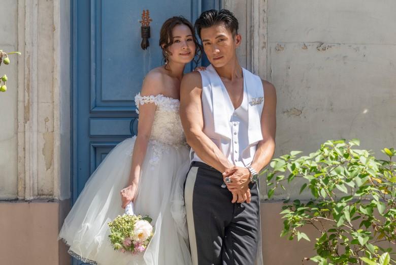 陳山聰法國婚照曝光。
