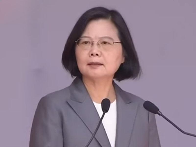 蔡英文指拒絕「一國兩制」,是2300萬台灣人民不分黨派、不分立場,彼此間最大的共識。(網圖)