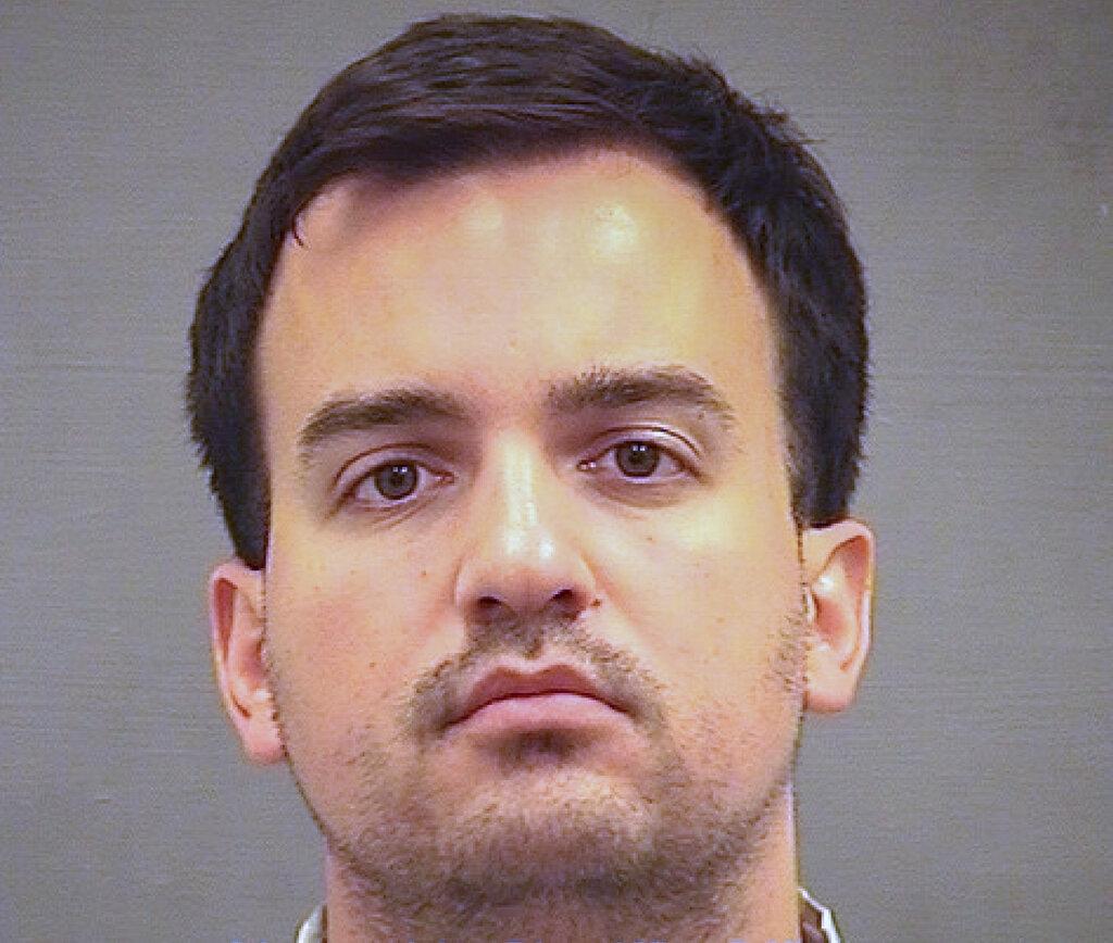 被捕美國國防情報分析員弗里斯。AP