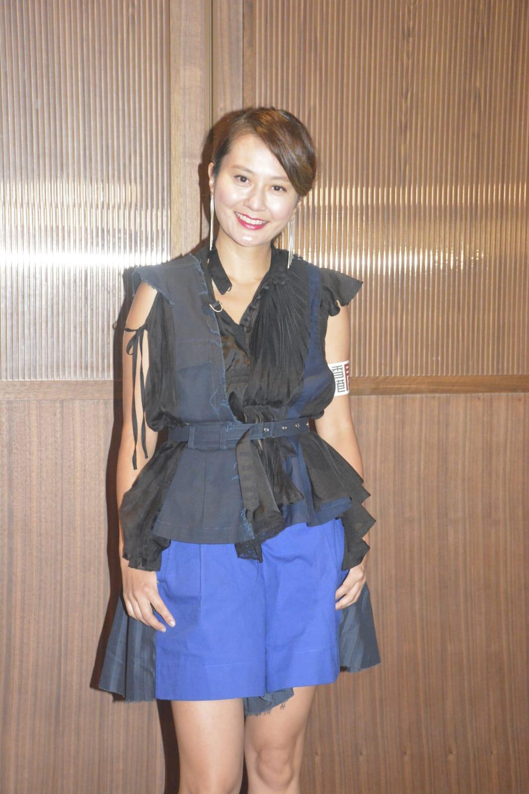 黃宇詩為香港開電視拍攝新節目《拾味人生》。