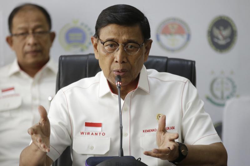 印尼安全部長維蘭托遇刺受傷,情況穩定。AP