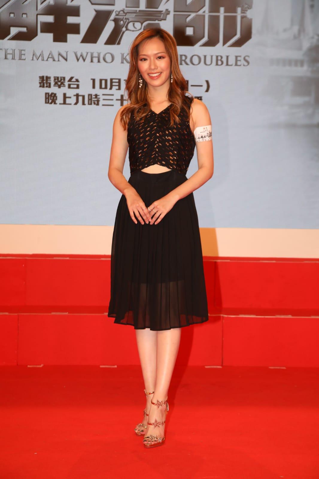 馮盈盈表示首次參與台慶劇心情興奮又有壓力。