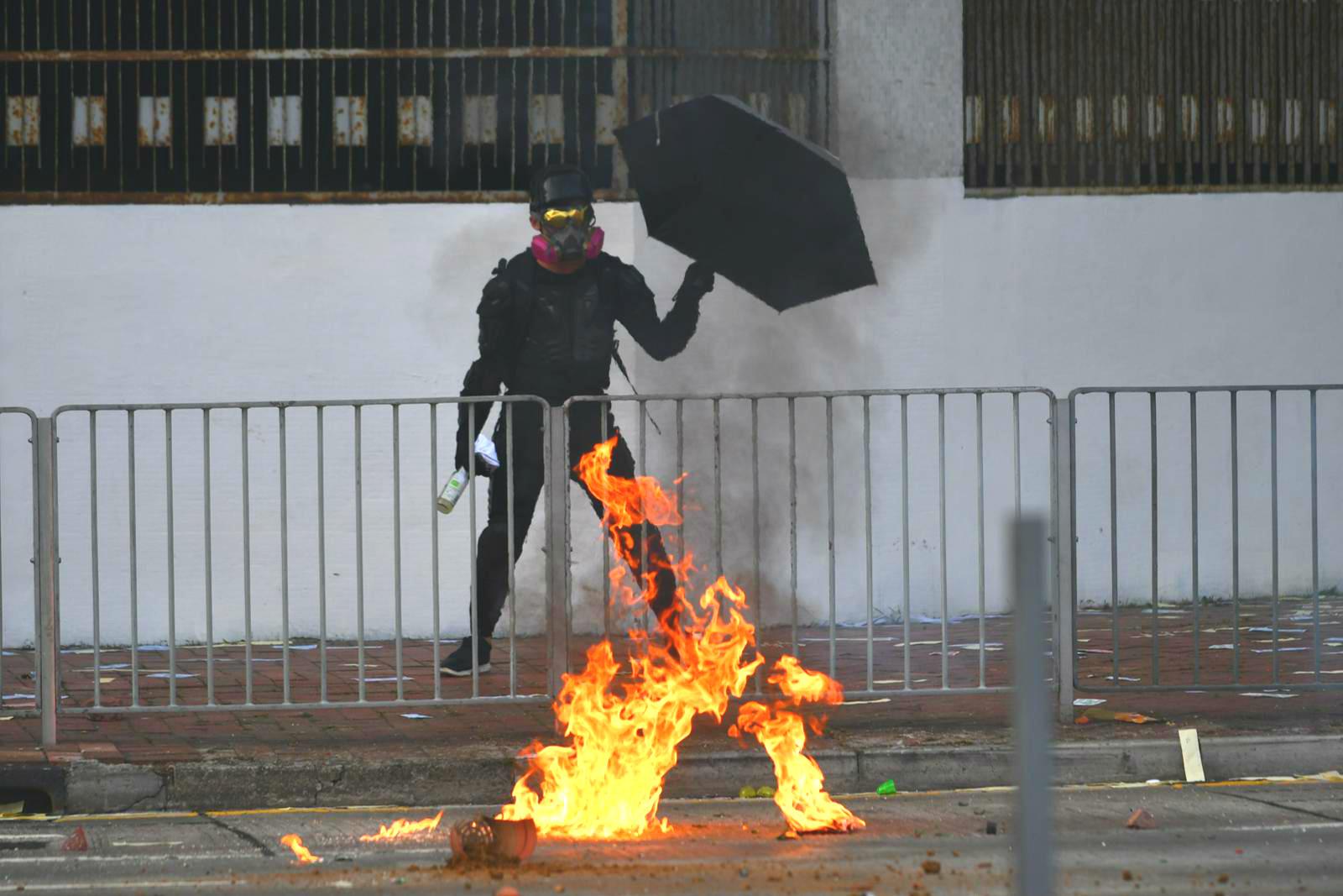 Blitzchung強調不後悔支持香港示威。資料圖片