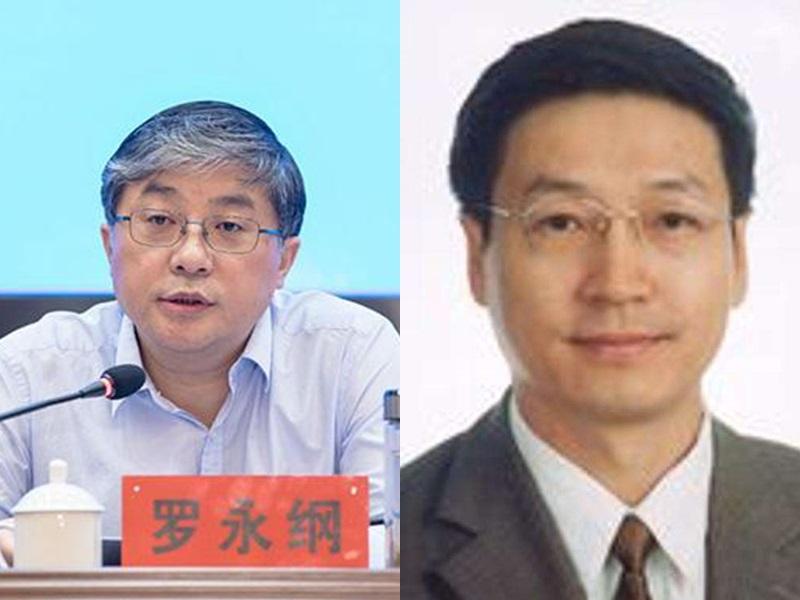 羅永綱(左)取代孫達(右)做澳門中聯辦副主任。網圖