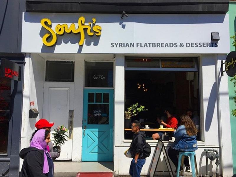 東主兒子參加示威後接死亡恐嚇。敍利亞餐館無限期停業。ig