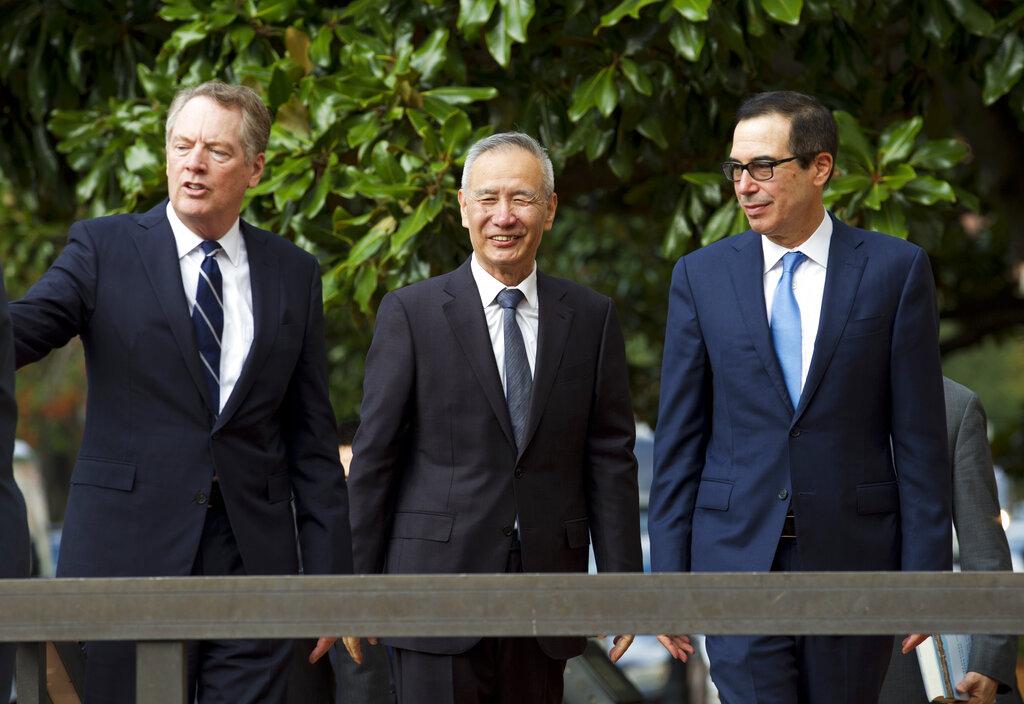 中美召开第13轮贸易谈判,特朗普明会晤刘鹤。