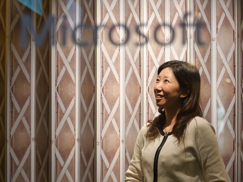 微軟香港市場策劃及營運部總監許珮雯。
