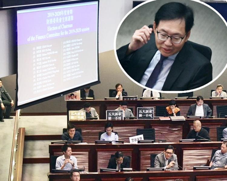 民主派互相提名角逐主席,結果,一共產生23名主席候選人。小圖為陳健波。