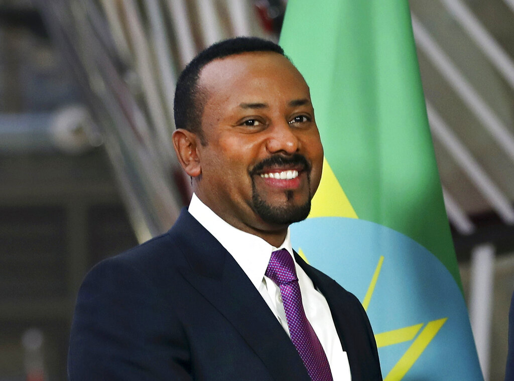 诺贝尔和平奖由埃塞俄比亚总理阿比‧艾哈迈德夺得。