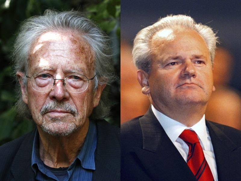 汉德克获文学奖惹怒火,被指支持有「巴尔干屠夫」之称的塞尔维亚已故前总统米洛塞维奇。