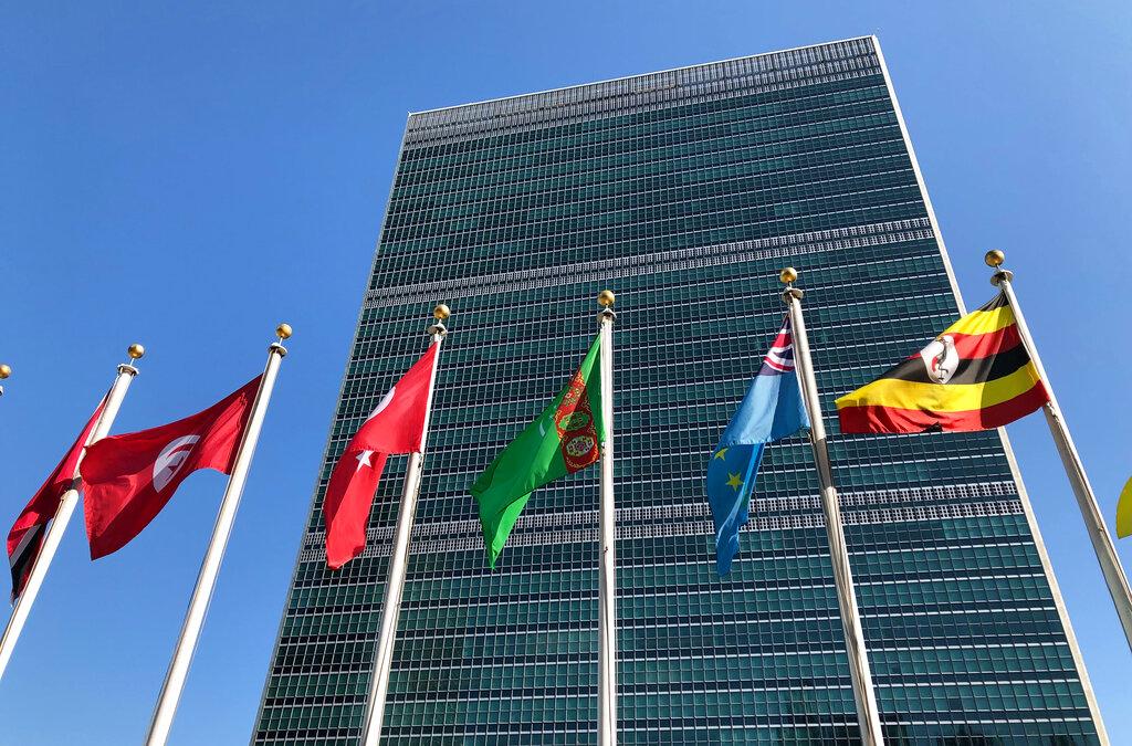 北京斥美國長期拖欠聯合國會費,累積約82億。AP