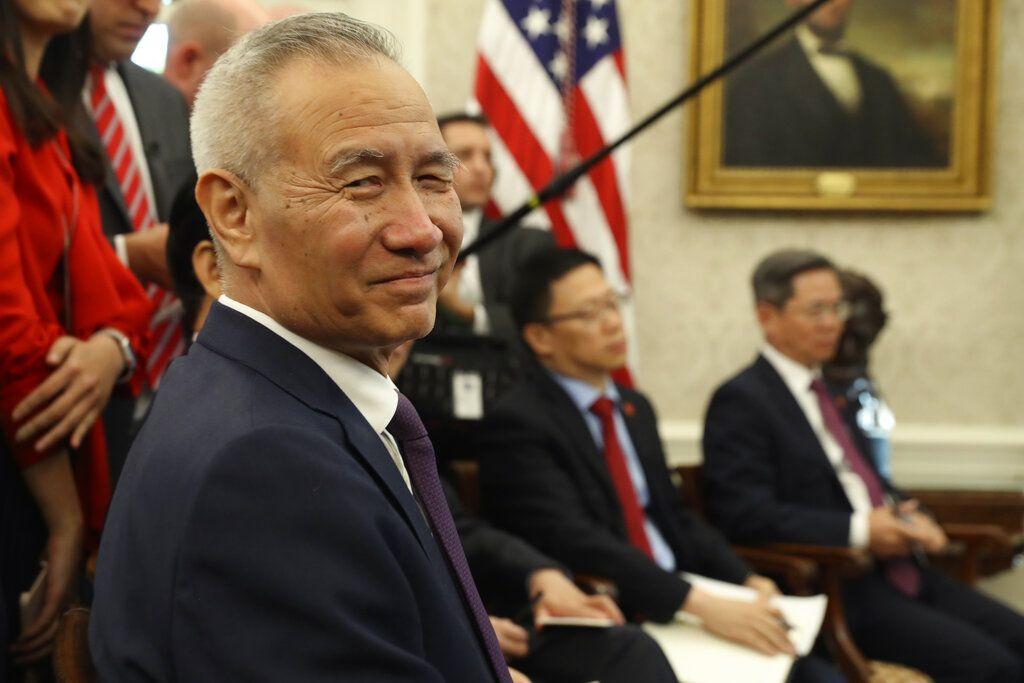 中國國務院副總理劉鶴。AP