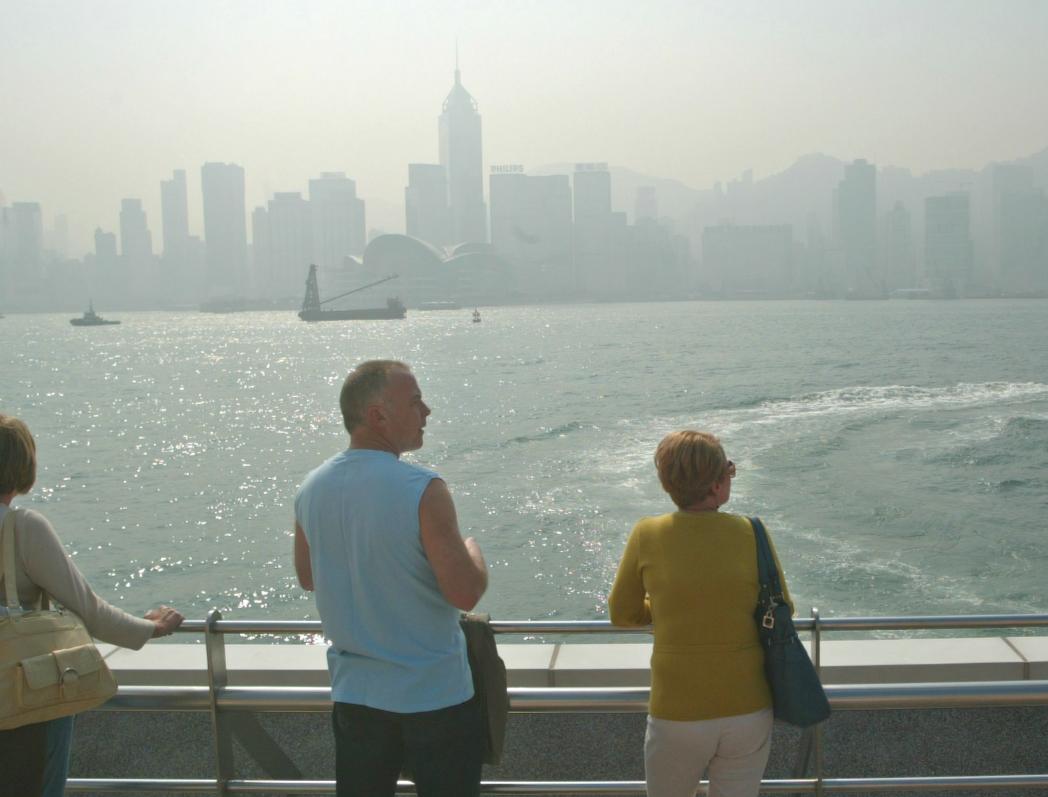 環保署空氣質素健康指數,達至「甚高」水平。資料圖片