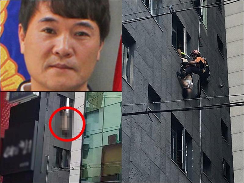 熱心市民朴京浩(左上)。網圖
