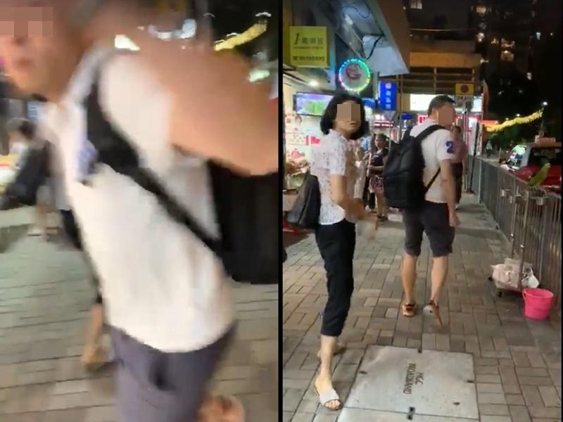 仇栩欣FB影片截圖
