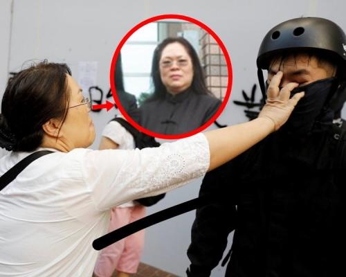 【修例風波】傳法庭檢控主任扯示威者面罩後遇襲 律政司證有職員受傷正了解事件