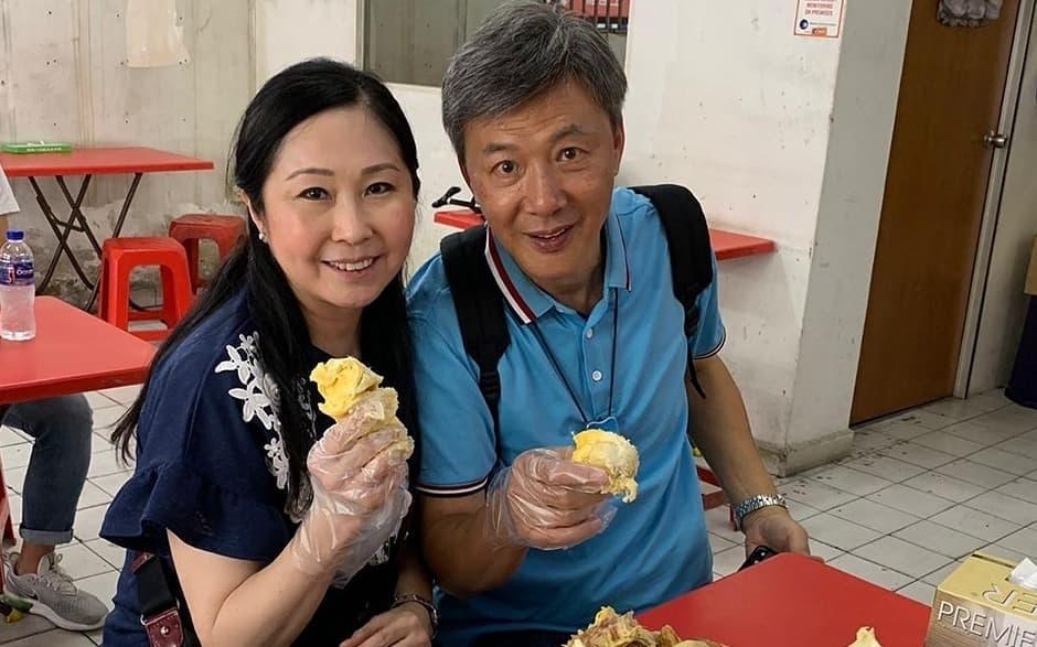 陳榮峻偕妻子吳香倫飛新加坡旅遊 連續兩日狂食榴槤
