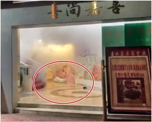 元朗酒家疑被擲懷疑催淚彈 警列刑毀追緝11漢