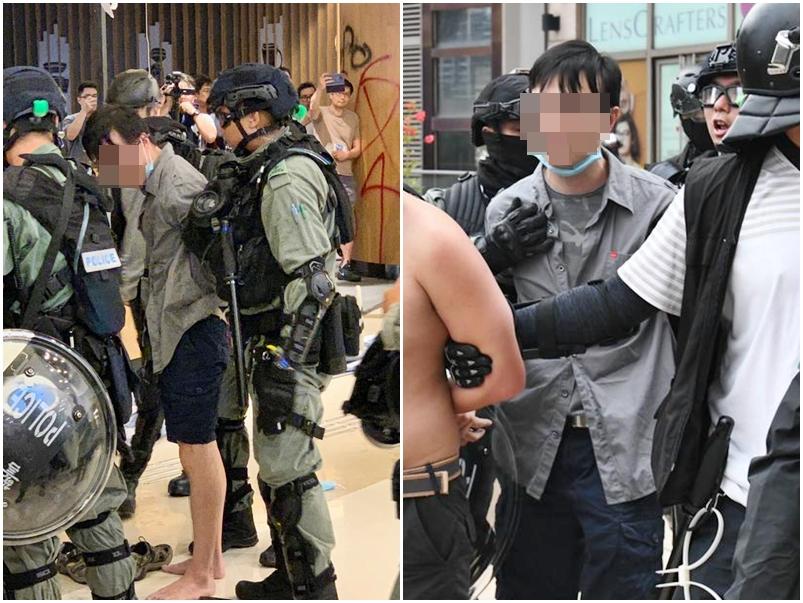 其中一名被捕人士為將軍澳醫院醫生(左圖:將軍澳主場FB圖片)