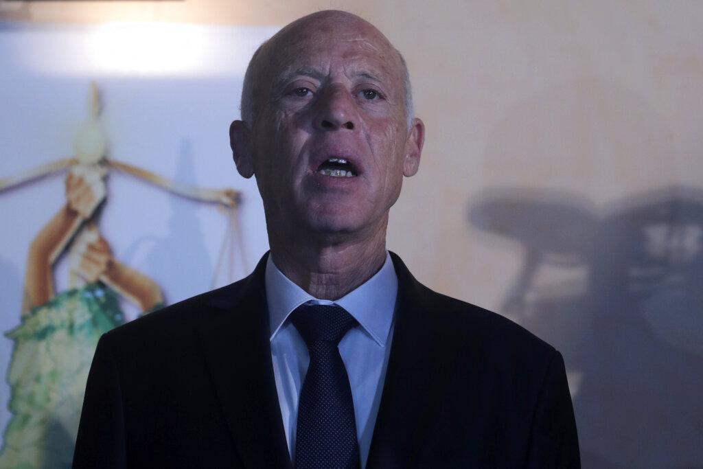 零從政經驗保守派法律教授賽義德當選突尼斯總統。AP