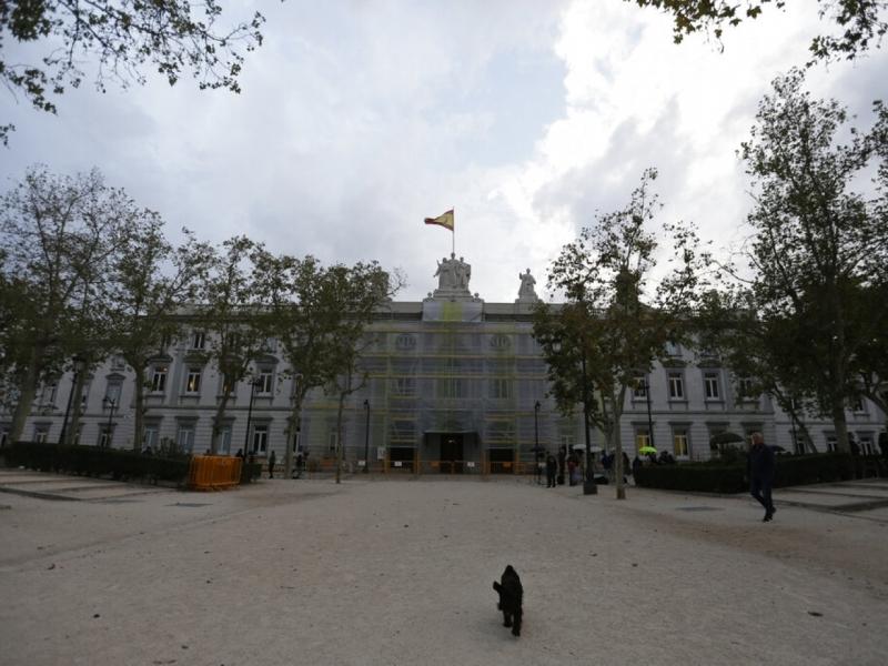 9名加泰獨派領袖囚9至13年,案件在西班牙馬德里的最高法院判決。AP