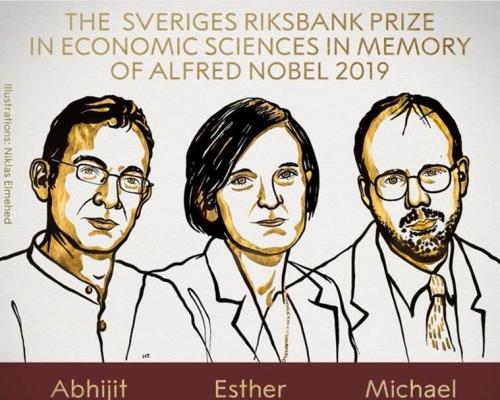 致力對抗全球脫貧問題 美法印三學者奪得諾貝爾經濟學獎