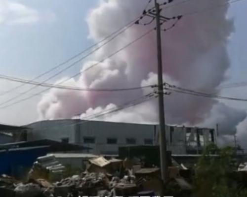 廣西玉林化工廠爆炸 至少4死6傷