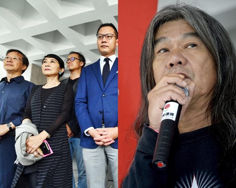 24名泛民立法會議員及「長毛」梁國雄早前就《禁蒙面法》入稟高等法院申請司法覆核。 資料圖片