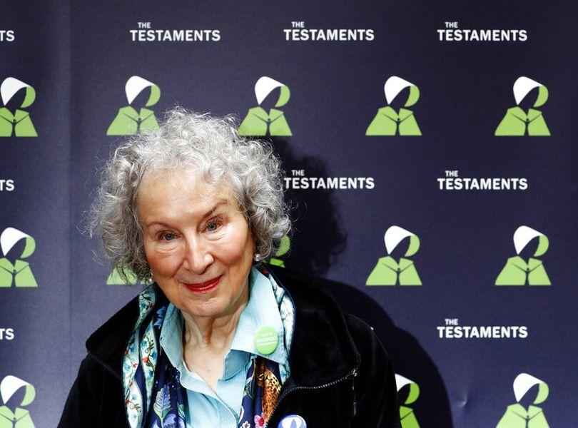 阿特伍德(Margaret Atwood)。AP