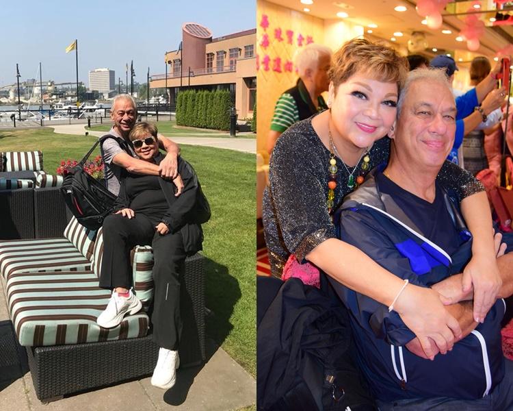 肥媽近年陪老公抗癌。