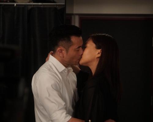 與梁漢文拍接吻戲  董敏莉被老公問有幾激