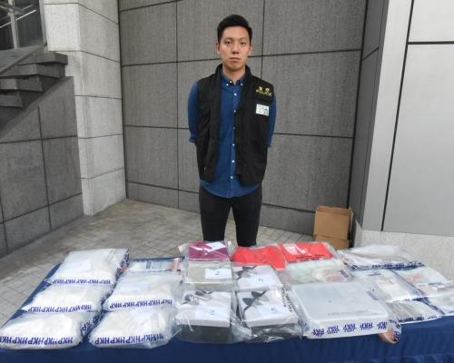 禮物盒掩飾警檢260萬元海洛英 2男被捕