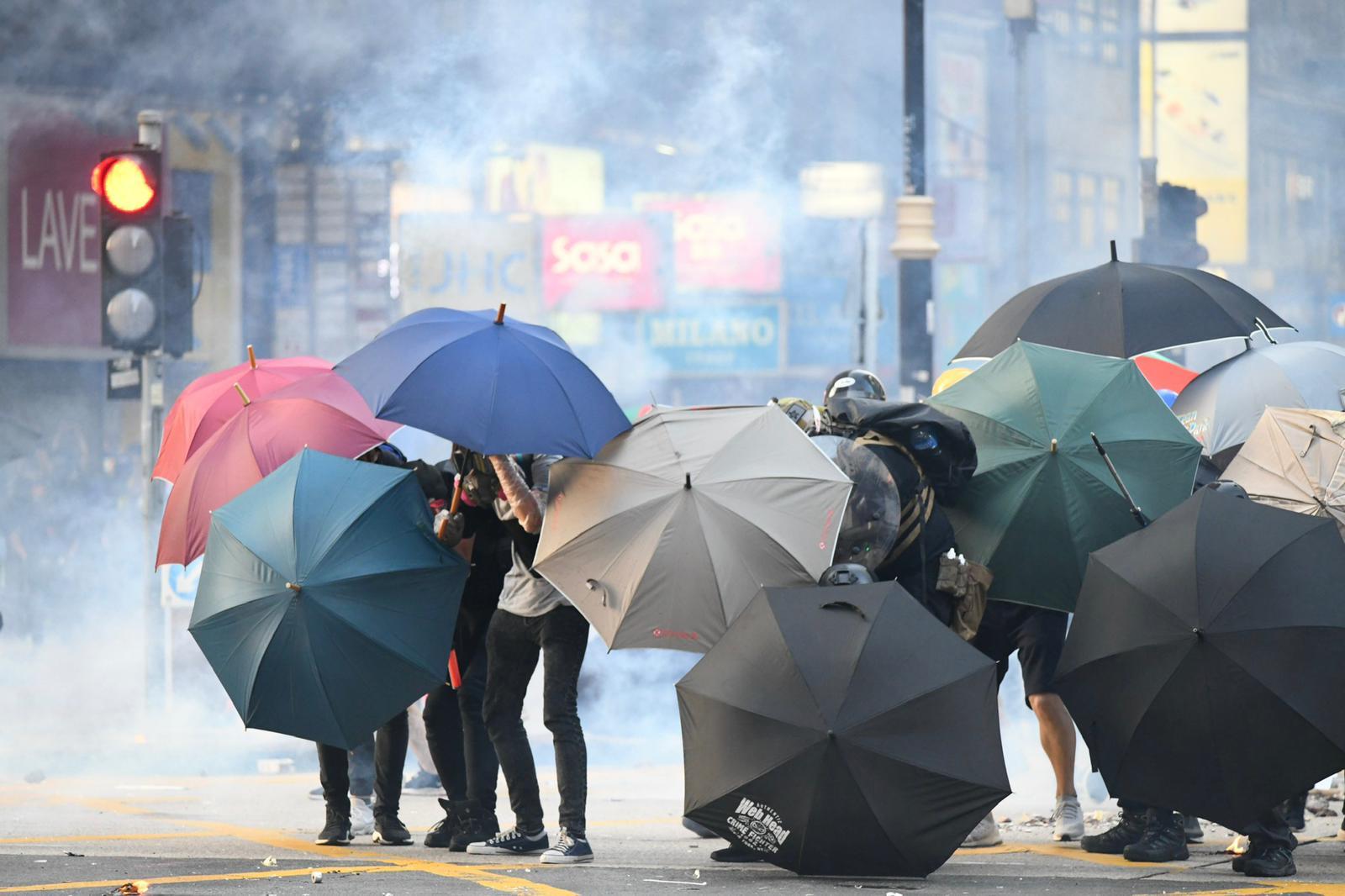 本港大規模衝突已經持續4個月。資料圖片