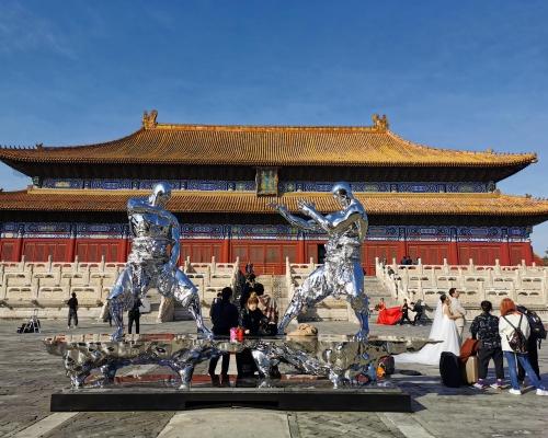 北京太廟建成600年 迎來36鋼鐵武士