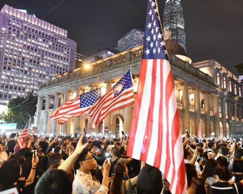 【修例風波】美國眾議院香港周三早上料表決涉港法案