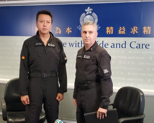 【修例風波】警方:旺角檢獲土製炸彈相等於手榴彈可奪10米内人命