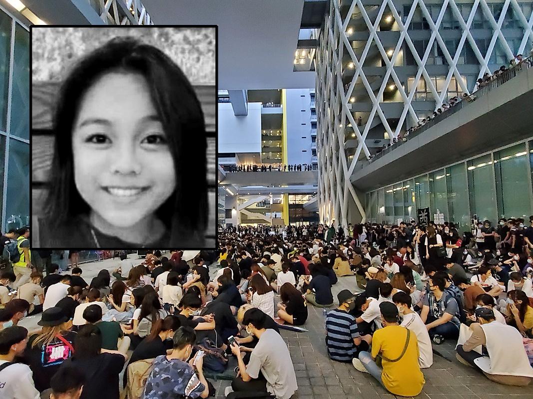 網上流傳聲稱是陳彥霖(小圖)母親的帖文,希望公眾不要作無謂揣測。
