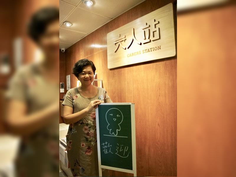 大銀總監及總編輯陳曉蕾。