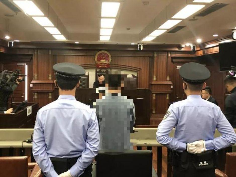 上海男子被判囚。網圖